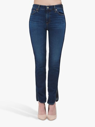 AG Jeans The Mari High Rise Slim Straight Leg Jeans, 10 Years Defend