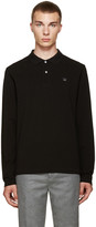 Acne Studios Black Kolby Polo