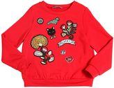 Ermanno Scervino Sweatshirt W/ Embroidered Patches