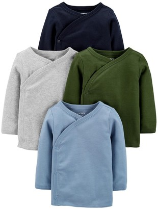 Carter's Baby 4-Pack Side-Snap Tees