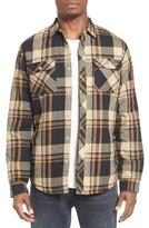 O'Neill Men's Brawn Regular Fit Plaid Flannel Shirt Jacket