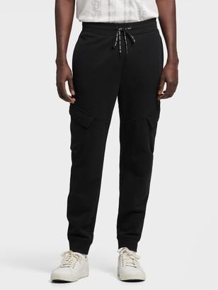 DKNY Slim Cargo Knit Jogger