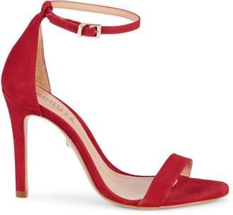 Schutz Cadey-Lee Suede High-Heeled Sandals