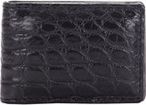 Barneys New York Men's Alligator Money Clip