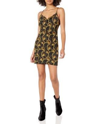 ASTR the Label Women's Chain Reaction Sleeveless Slip Mini Dress