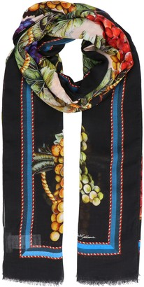 Dolce & Gabbana Graphic Printed Scarf