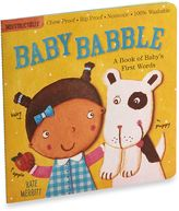 Bed Bath & Beyond Baby Babble Baby's First Words Indestructible Book