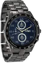MC M&c Ferretti Men's | Gunmetal Chronograph Dial Watch | FT14803