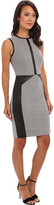 Calvin Klein Lux Micro Houndstooth Print Dress CD4X2A06