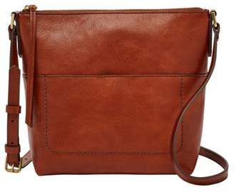 Fossil Amelia Crossbody Handbags Brandy
