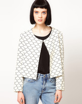 Rodnik The Band Fish Scale Print Jacket