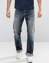 Edwin ED-39 Red Listed Selvage Regular Loose Fit Jeans