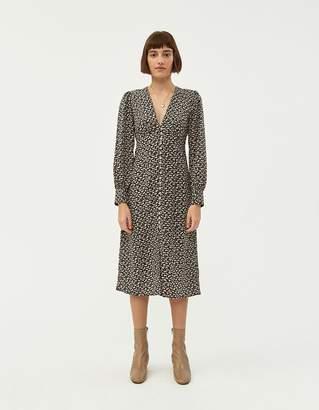 Farrow Perrine Long Sleeve Dress in Black