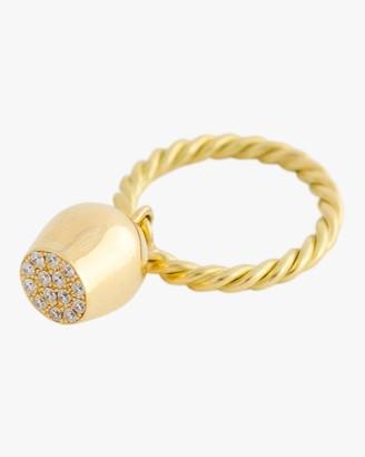 Haute Victoire Pave Luna Charm Ring