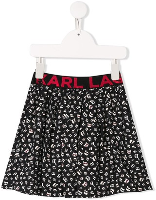 Karl Lagerfeld Paris A-Line Skirt