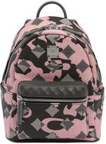 MCM Mini Lion Camo Backpack