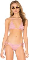 Eberjey Cherokee Heart Gisele Bikini Top