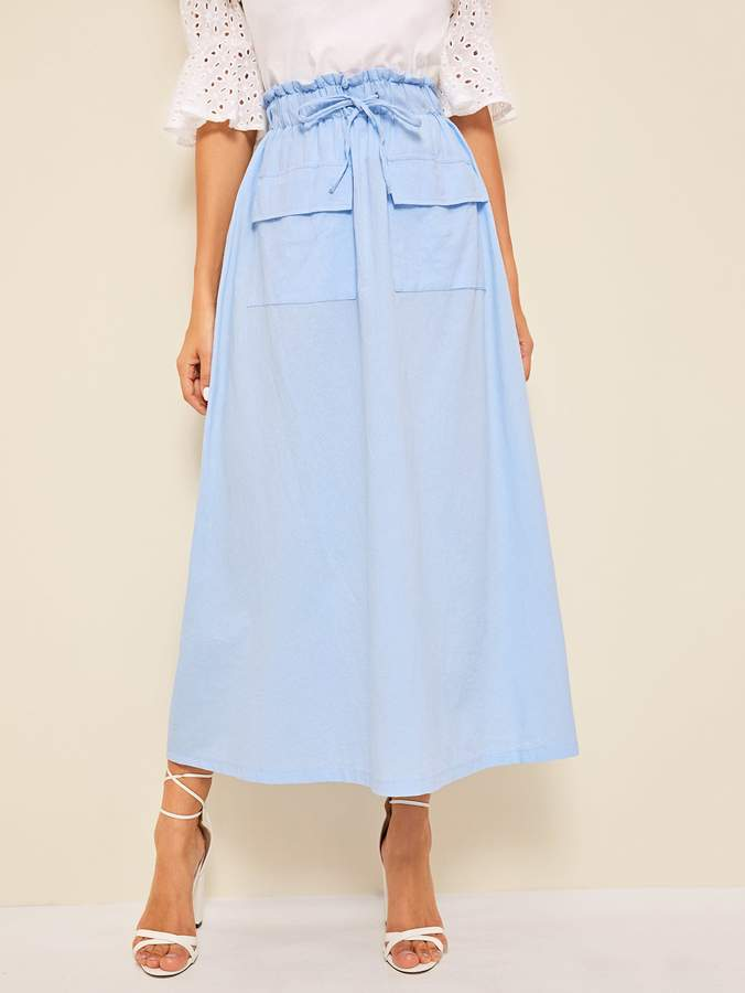 0aa9eb606 Maxi Skirt With Pockets - ShopStyle