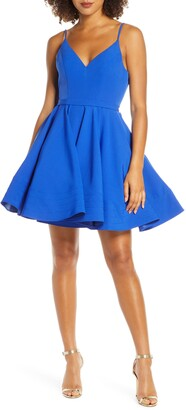 Mac Duggal Ieena For  Fit & Flare Party Dress