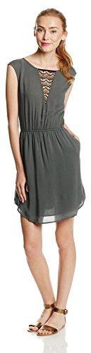 Jack by BB Dakota Women's Joslin Rayon Dobby with Lace Inset Dress