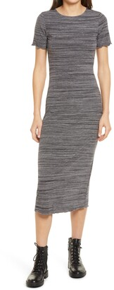 Reformation Perry Rib Midi Dress