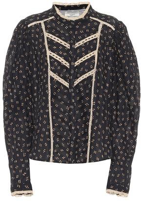 Etoile Isabel Marant Reafi printed cotton blouse