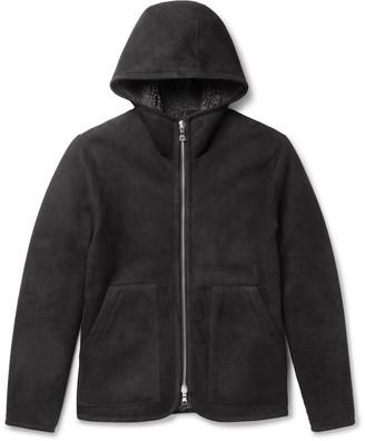 Mr P. Reversible Shearling Hooded Jacket