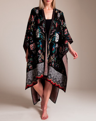 Camilla Haute Provincial Throw Over Poncho