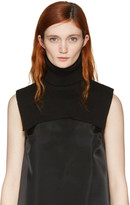 MM6 MAISON MARGIELA Black Turtleneck Collar