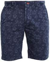 Superdry Globe Trotter Shorts Mono Hibiscus Navy