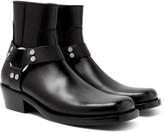 Balenciaga - Leather Harness Boots
