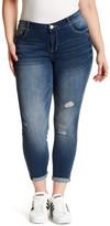 Jolt Deconstructed Jeans (Plus Size)