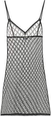 Gucci GG tulle lingerie minidress