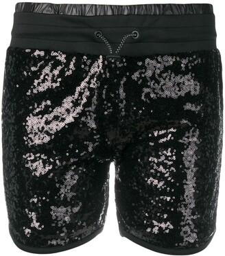 Philipp Plein Sequined Shorts