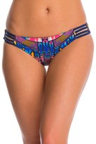 Red Carter Dream Catcher Reversible Strappy Hipster Bikini Bottom 8140142