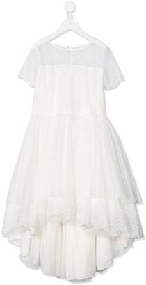 Aletta Lace Panel Midi Dress