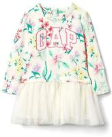 Gap Logo floral tutu dress