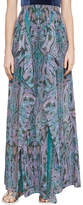 BCBGMAXAZRIA Baroque Paisley Maxi Skirt