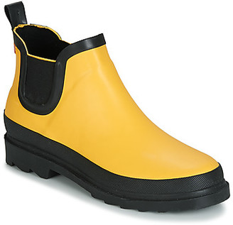 Sanita FELICIA women's Wellington Boots in Yellow