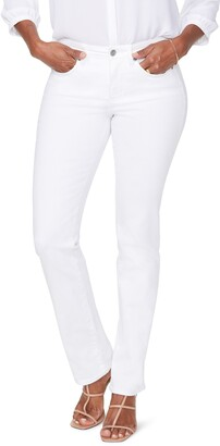 NYDJ Sheri Rhinestone Pocket Slim Stretch Jeans