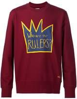Vivienne Westwood Man crown print sweatshirt