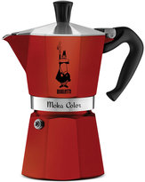 Bialetti Red Moka Express 6-Cup Stovetop Espresso Maker