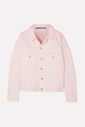 Alexander Wang Game Denim Jacket - Pink
