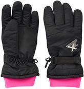 ZeroXposur Girls 4-16 Nadia Nylon Gloves