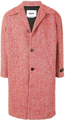 MSGM Single-Breasted Coat