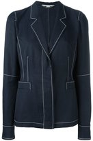Stella McCartney Kasey blazer - women - Polyamide/Cotton/Linen/Flax - 40