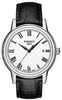 Tissot Men's Carson Watch with Leather Strap