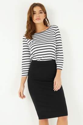 Lipsy Midi Skirt - 6 - Black