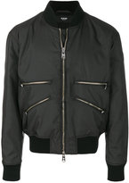 Versus multi-zip bomber jacket