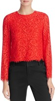 Alice + Olivia Pasha Lace Top